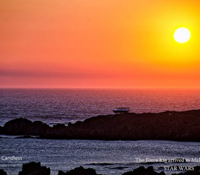 Millennium Falcon at Sunset ~ Malin Head, Ireland. Image: John Mc Candless: Joe.ie
