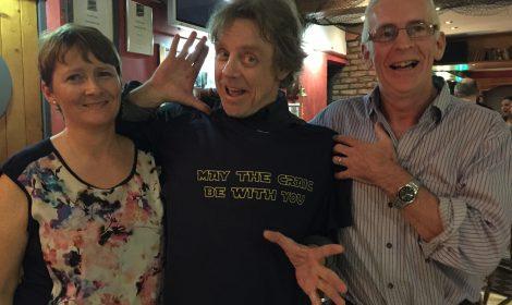 Mark Hamill at the Mooring Bar, Kerry. Image: Gerard Kennedy: www.moorings.ie